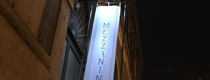 Mezzanine Creative Restaurant is one of Locais salvos de Margarida.