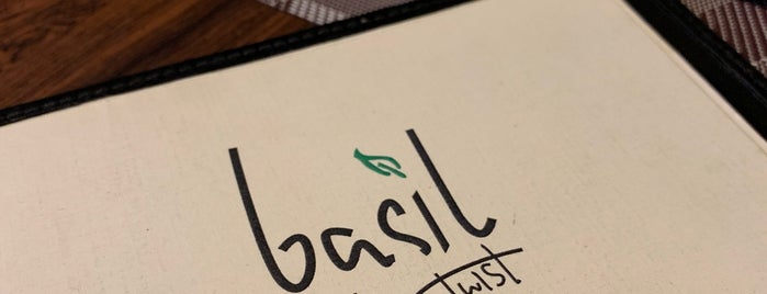 Basil - With a Twist is one of Chennai.