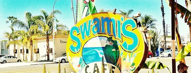 Swamis Cafe is one of SD spots.