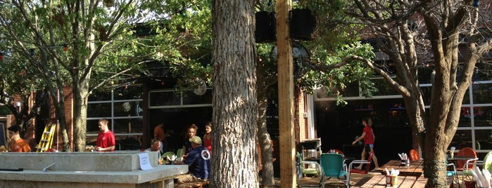 Katy Trail Ice House Outpost is one of Lieux qui ont plu à Wednesday.