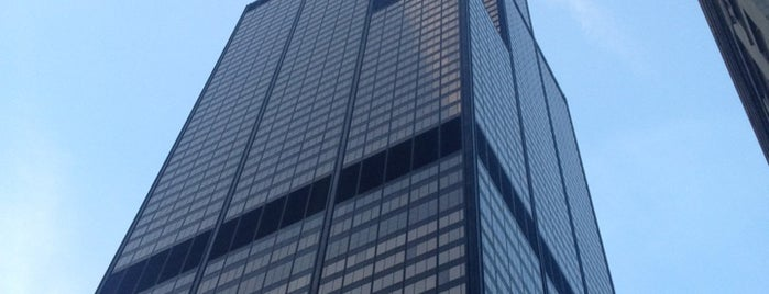 Willis Tower is one of Historic Route 66.