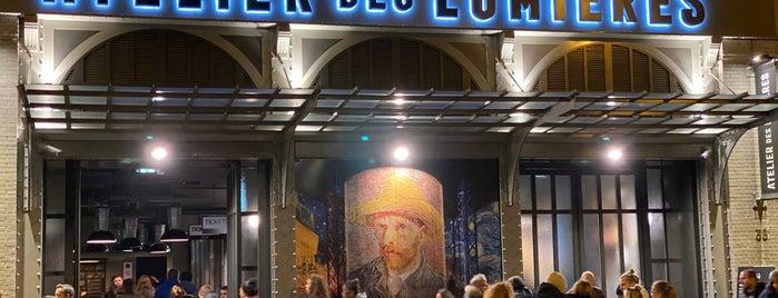 Atelier des Lumières is one of Paris.