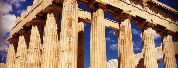 Acropolis of Athens is one of greece.