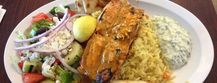 Mikonos Grill is one of Best South Bay Restaurants.