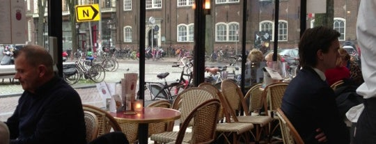 Café Luxembourg is one of Amsterdam.