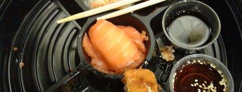 Aiko Sushi is one of Locais salvos de Jonathan.