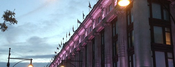 Selfridges & Co is one of London Town.