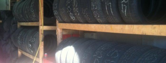 MW Tires is one of Lieux sauvegardés par Andrew.