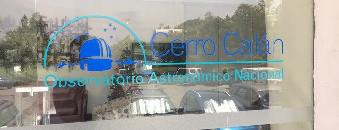 Observatorio Astronómico Nacional Cerro Calán is one of Gustavo 님이 좋아한 장소.