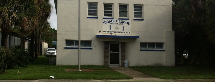 Ribault Lodge No. 272 - F. & A. M. is one of Jacksonvilleさんの保存済みスポット.