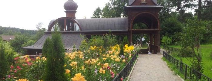 Купель Саввино-Сторожевского монастыря is one of Lugares favoritos de Ekaterina.