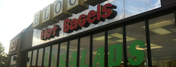 Block's Bagels is one of CMH favs.