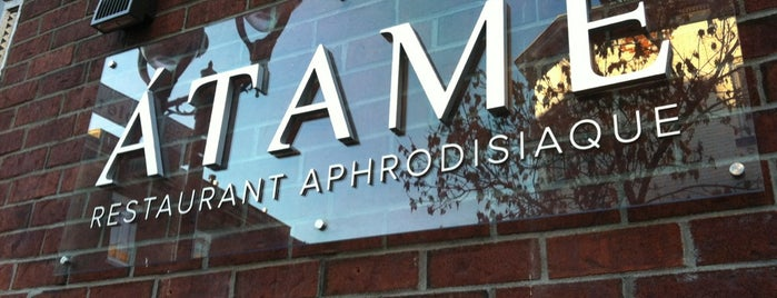 Atame Restaurant Aphrodisiaque is one of montreal.