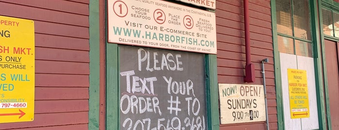 Harbor Fish Market is one of Portlandiame.