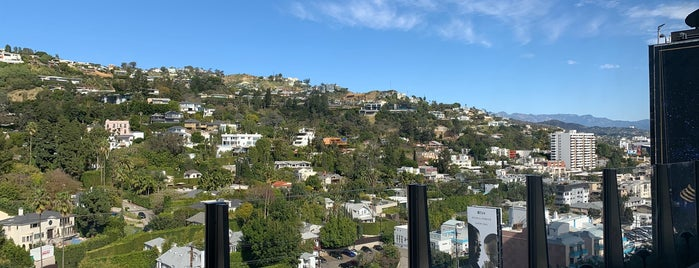 The West Hollywood EDITION is one of Whit'in Kaydettiği Mekanlar.