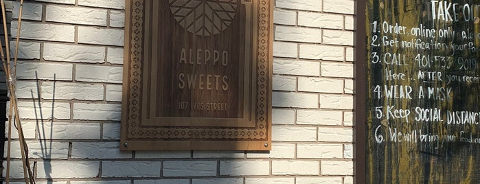 Aleppo Sweets is one of Rhody.