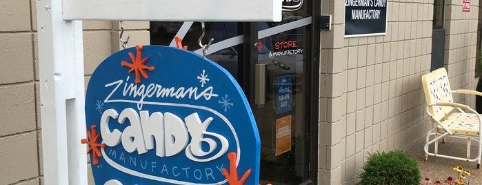Zingerman's Candy Manufactury is one of Michael 님이 좋아한 장소.