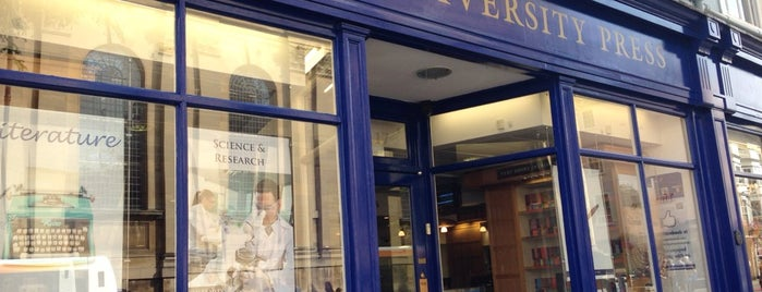 Oxford University Press Bookshop is one of 🇬🇧 Oxford.