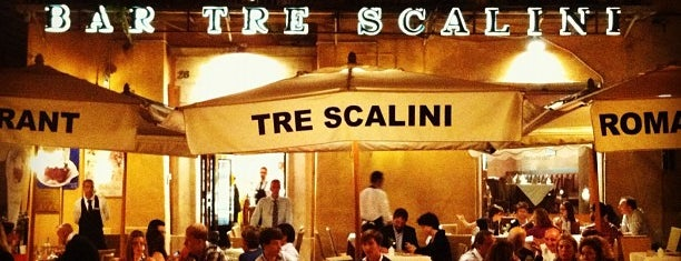 Tre Scalini is one of Lieux qui ont plu à Bora.