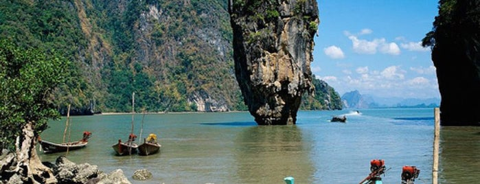 Koh Tapu (James Bond Island) is one of Trips / Thailand.