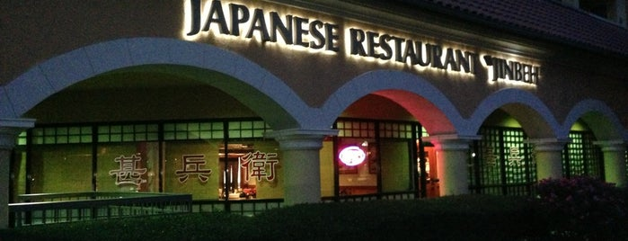 Jinbeh Japanese Restaurant is one of Victorさんの保存済みスポット.
