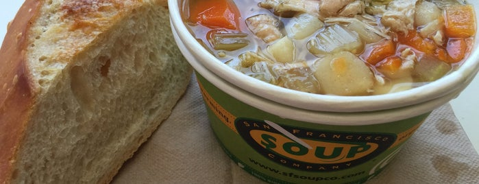 San Francisco Soup Company is one of SF.