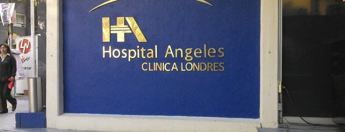 Hospital Ángeles Clínica Londres is one of Paco : понравившиеся места.