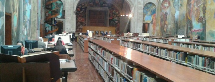 Biblioteca Miguel Lerdo de Tejada is one of Some best places of Mexico City..
