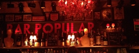 Bar Popular is one of Top Bars in Ghent.