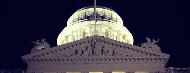 California State Capitol is one of The Crowe Footsteps.