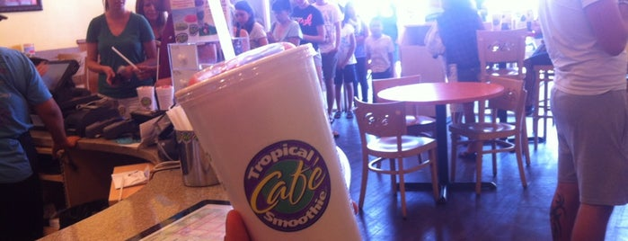 Tropical Smoothie Cafe is one of Orte, die Samantha gefallen.