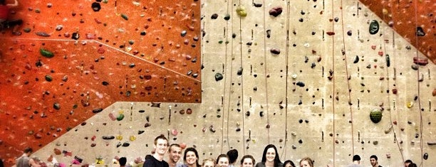 Stone Summit Climbing & Fitness is one of Andi places to go.