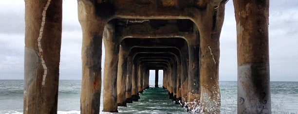 Manhattan Beach Pier is one of Los Angeles.