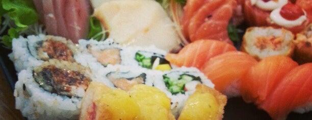 Mure Sushi is one of สถานที่ที่ Jessica ถูกใจ.