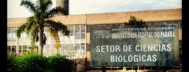 Setor de Ciências Biológicas is one of Marceloさんのお気に入りスポット.