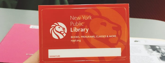 New York Public Library - New Dorp is one of Eddie's Saved Places.