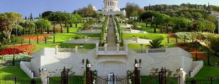 Baha'i Gardens is one of Orte, die Alled gefallen.