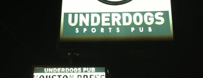 Underdogs Sports Pub is one of Brenda 님이 좋아한 장소.