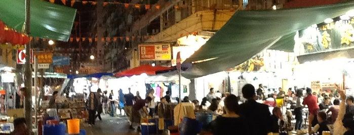 Temple Street Night Market is one of HK.