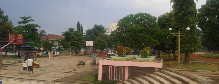 Alun Alun Pandeglang is one of Favorite Great Outdoors.