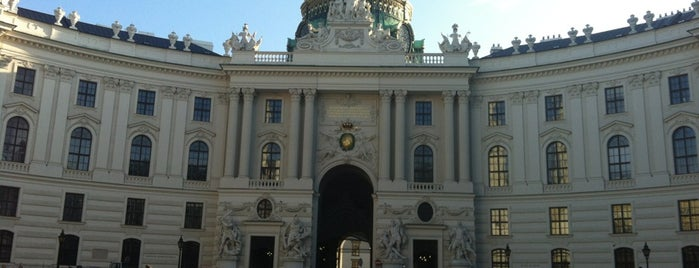 Hofburg is one of Vienna.
