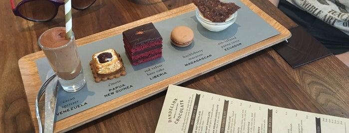Dandelion Chocolate is one of สถานที่ที่ Oksana ถูกใจ.