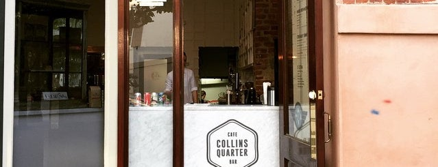 The Collins Quarter is one of Savannah.