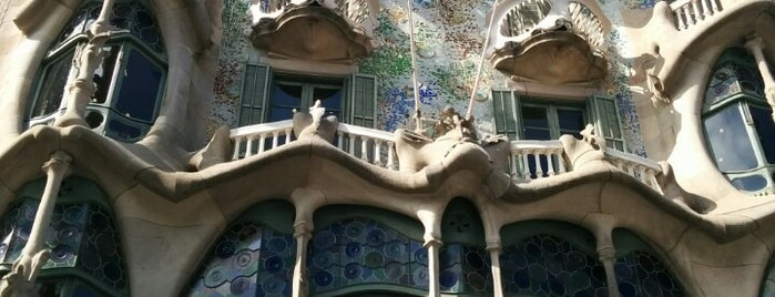 Casa Batlló is one of A quick trip through Barcelona.
