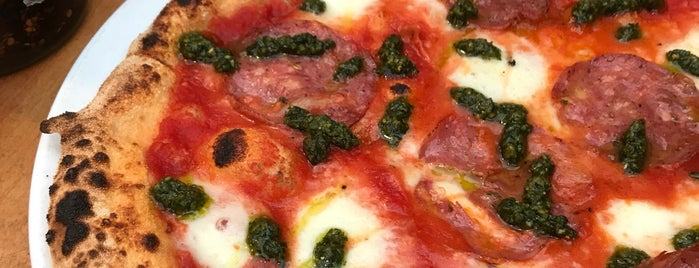 Sodo Pizza Cafe is one of Europe // 50 Top Pizza.