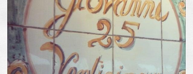 Giovanni Venti Cinque is one of NYC.
