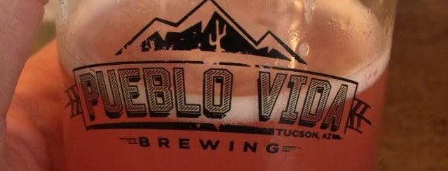 Pueblo Vida Brewing Company is one of Tucson.