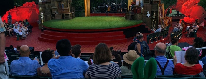 Delacorte Theater is one of The New Yorkers: Extracurriculars.