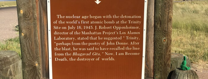 Trinity Site is one of West Coast Sites.