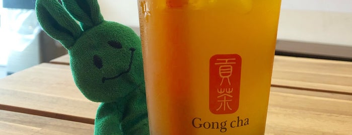 Gong Cha 貢茶 is one of Bubble Tea.